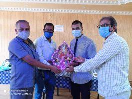 Anti Corona Ambassador actor Rajan Kumar honoured